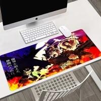 black clover pad mouse pads gaming mats for pc gamer complete office anime carpet desk mat rug mause mousepad keyboard deskmat