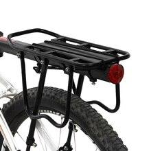porte bagage velo Porte-bagages de vélo porte-siège de cargaison porte-bagages arrière garde-boue cadre en alliage daluminium support de monture pour support de vélo porte-bagages
