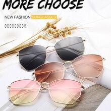 Oversized Sunglasses Women Shades For Men Luxury Designer Metal Glasses Vintage Retro Sun Glasses Go
