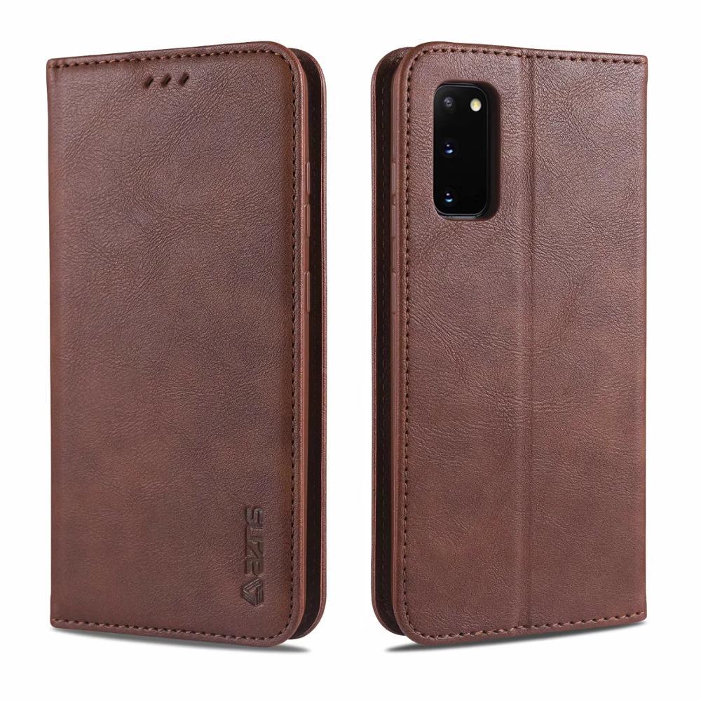 S20 PU Leather Case For Samsung A71 A51 A70 A50 A30 A10 S A20E S9 S8 S10 S20 Ultra A8 A6 Plus 2018 M30 M10 A40 Wallet Flip Cover