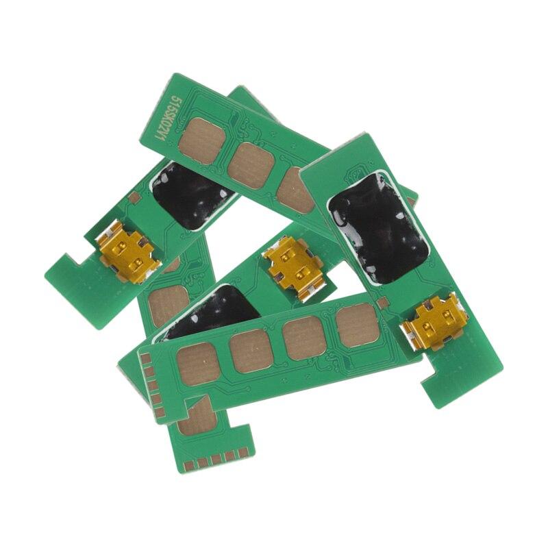 Chip de tóner Compatible versión europea 7K para Samsung CLP-510/510R/510N/511G CLP-510D7K