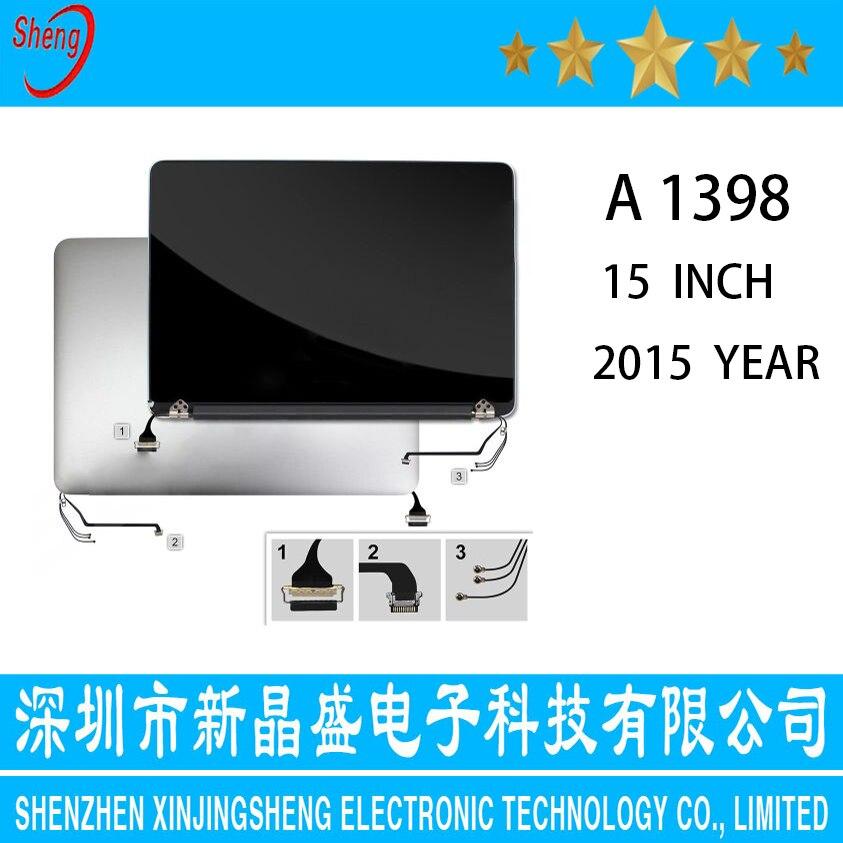 شاشة LCD مقاس 15 بوصة Retina A1398 لجهاز Macbook Pro ، حامل شاشة لجهاز Macbook Pro أواخر 2015 ، 661-02532 ، منتصف 2015