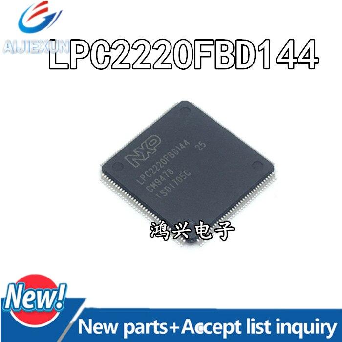 5 قطعة 100% جديد و الأصلي LPC2220FBD144 LQFP144 LPC2220 في الأسهم
