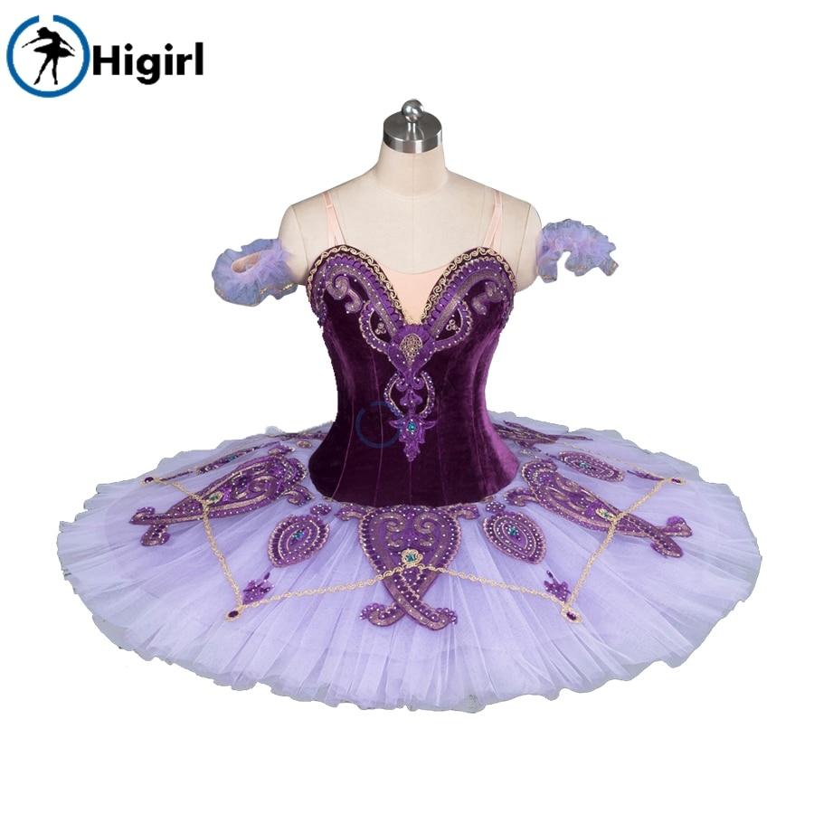 ¡Envío gratis! Tutús de Ballet profesional BeeSway rojo para adultos, mujeres púrpuras para niñas, rendimiento para niños BT9085