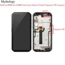 Screen for BLACKVIEW BV9900 Pro Touch Screen Display Earpiece Fingerprint FPC for BV9900 5.84