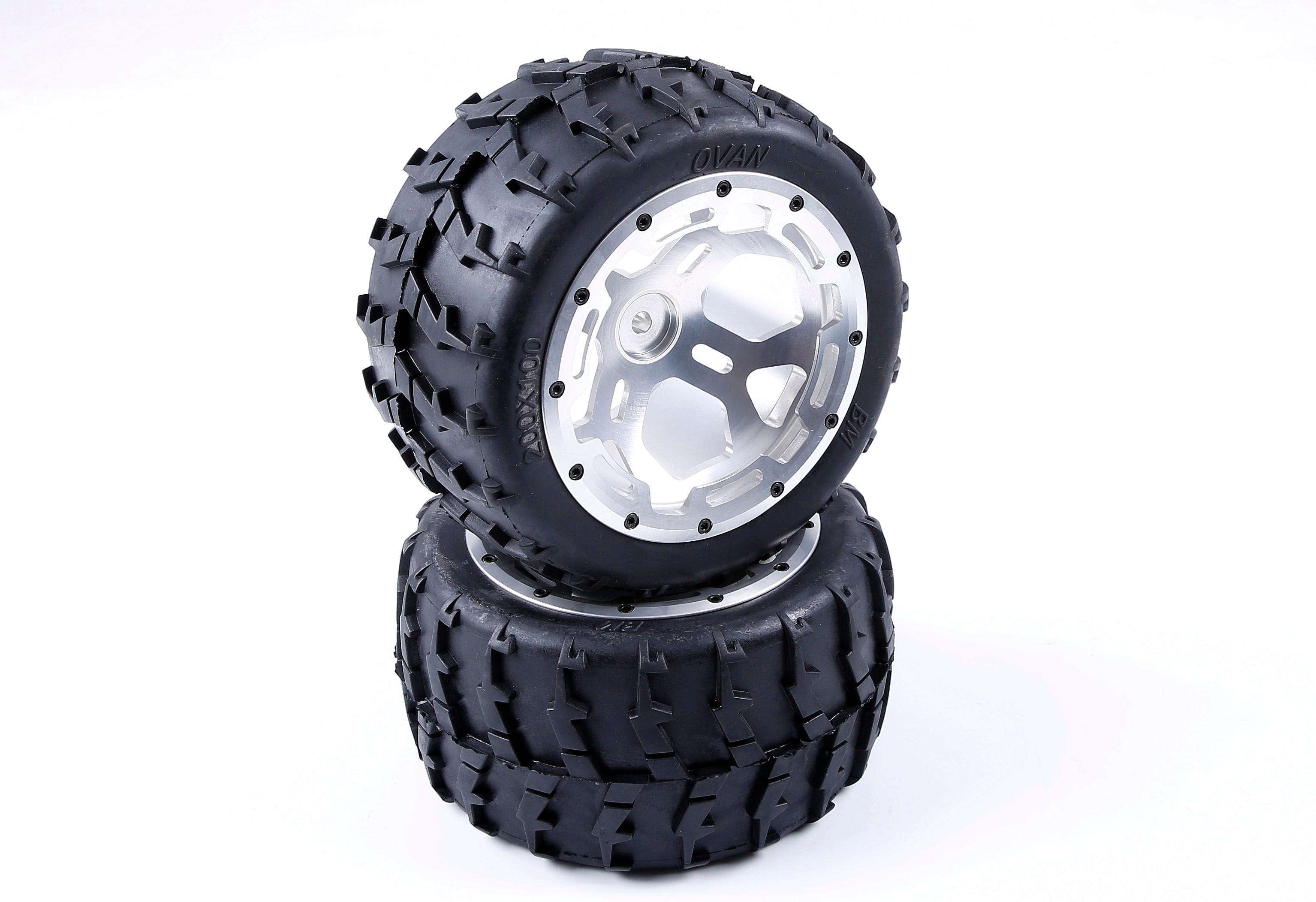 Набор металлических колес с ЧПУ для 1/5 FG Rovan BM Monster Truck RC автозапчасти