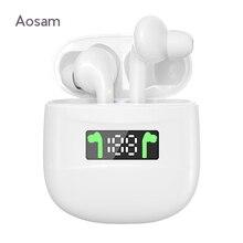 Tws J3 Pro Draadloze Bluetooth 5.1 Oortelefoon Handsfree Sport Super Bass Waterdichte Headset In-Ear Oordopjes Voor Alle Mobiele telefoons