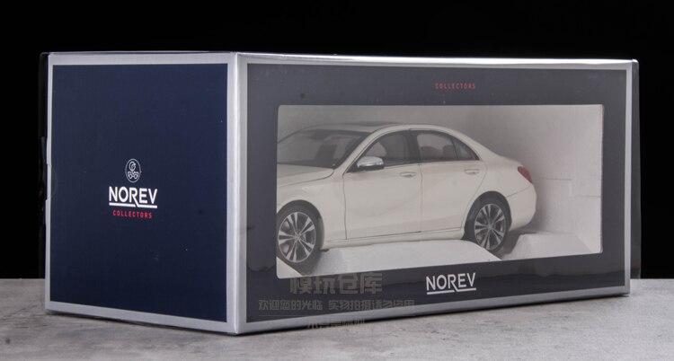 NOREV 118 Benzs C-klasse C W205 Auto simulation legierung auto modell