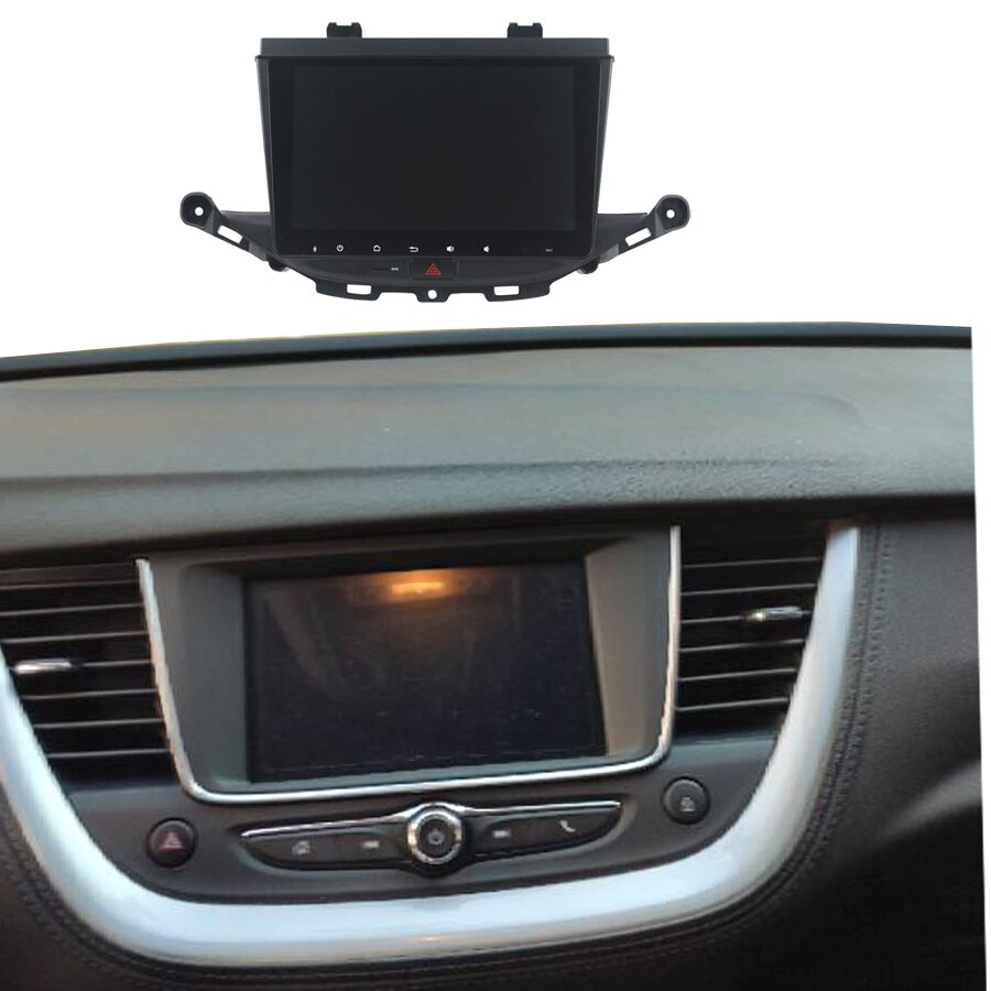 Navegador GPS Navirider para 2019 enjoy opel grandlan x Opel Astra K para coche, android 8 core 64gb rom, reproductor de radio bluetooth Estéreo