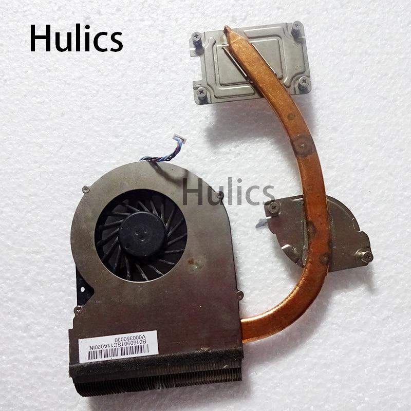 Hulics الأصلي لتوشيبا S70-B S70 V00035030 محمول التبريد مروحة وحدة المعالجة المركزية برودة غرفة التبريد