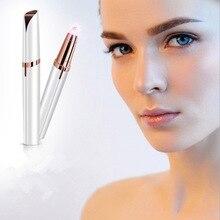 Rasoir de sourcils électrique mme rasoir de sourcils artefact rasage automatique épilation tondeuse de beauté