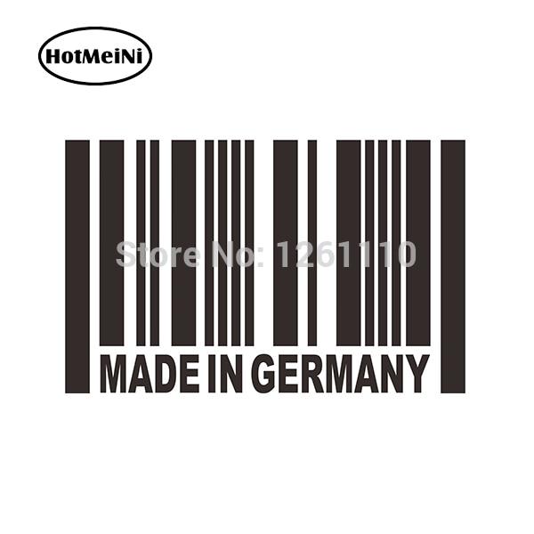 HotMeiNi Made in Germany Hellaflush Euro Car Slammed Stance Racing Car Sticker Lower JDM Reflective Vinyl Decal For Truck Window
