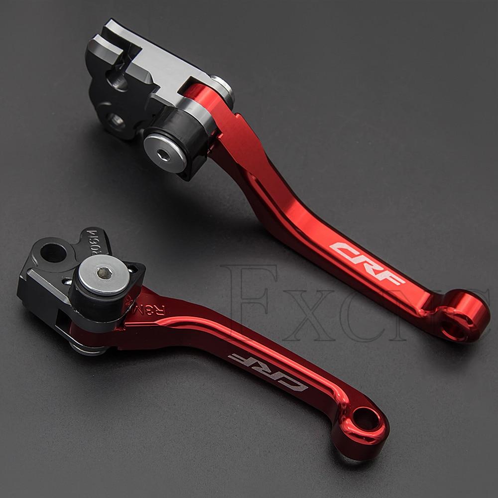 AliExpress - Matt Color For Honda CRF250R CRF450R CRF 250 450 R 2007-2020 Foldable Brake Clutch Lever Dirt Pit Bike Brake Clutch Levers Grips