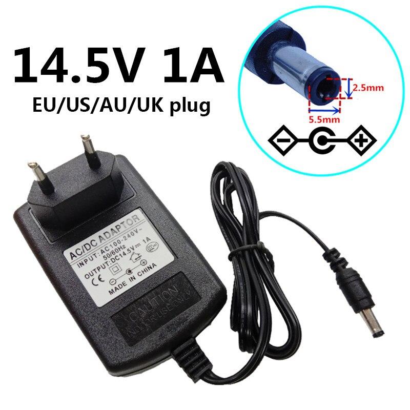 14 5v 1a 1000ma Ac 100v 240v Converter Power Adapter Supply Dc 14 5 Volt Eu Us Uk Au Plug 5 5mmx2 1 2 5mm Adaptor Adaptador Ac Dc Adapters Aliexpress