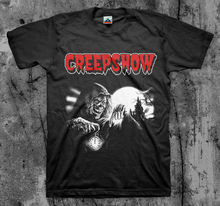 Creepshow cripta keeper filme t camisa clássico 80s culto comédia horror