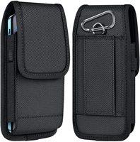 Чехол для сотового телефона, нейлоновый чехол-кобура с зажимом для ремня, чехол, совместимый с iPhone 12 Pro max /iphone 11 Pro Max/SE 7 8 + X, Samsung