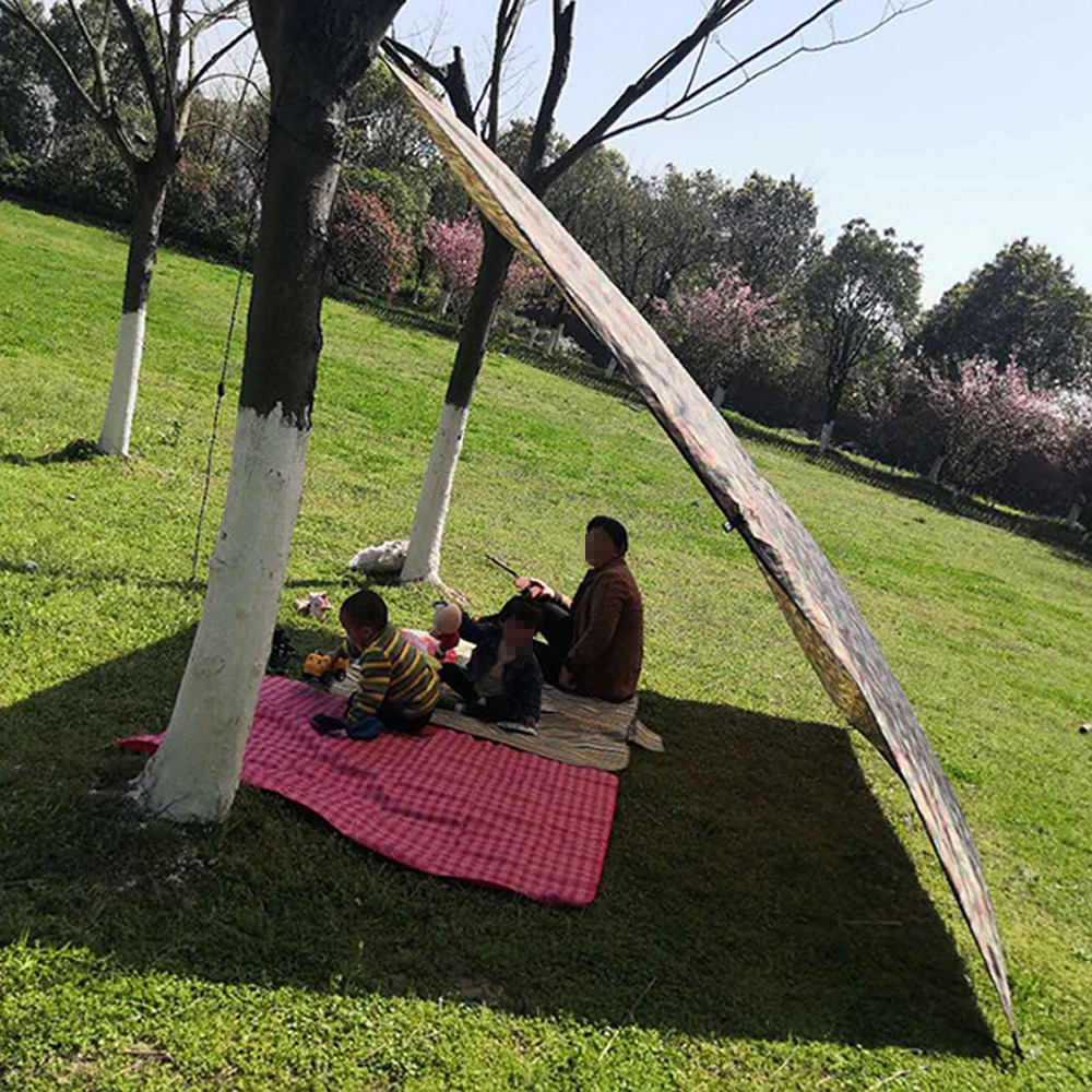 HOT Sea Beach Camping Tent tarp Sun Shade inflatable Shelter canopy Sand Anchor Carry Bag Canopy Rain Protect Portable
