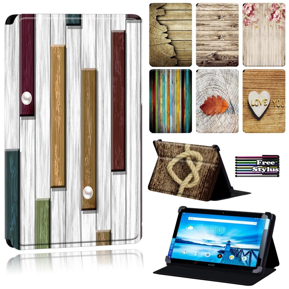 Cover Case for  Lenovo Tab P10 - Wood Series Tablet Case for Lenovo Smart Tab P10 10.1