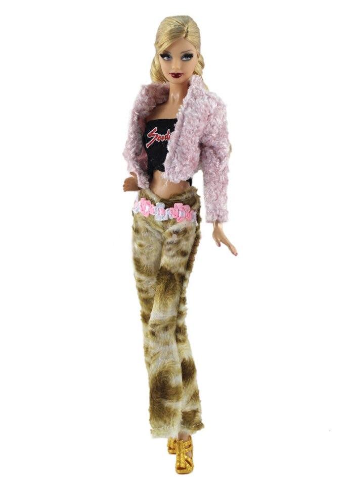 Комплект одежды для куклы Барби, Европейская мода, шарнирная Одежда для куклы Барби, аксессуары для ролевых игр, игрушки для девочек