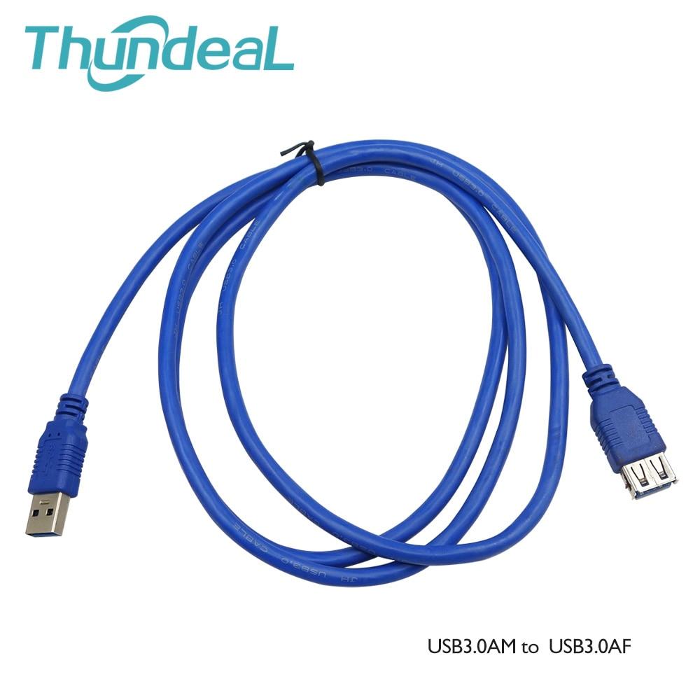 Cable USB AM A AF de 5 pies y 1,5 m, Cable...