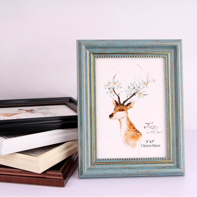 Новейшая трендовая качественная винтажная фоторамка домашний Декор Ретро деревянная Свадебная пара рекомендации фоторамки фото подарок