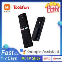 Оригинальный ТВ-стик Xiaomi Mi Android 9,0 Iptv 8 Гб ROM 1080P HD Smart Netflix DTS Dolby Wifi Google Assistant проектор Box