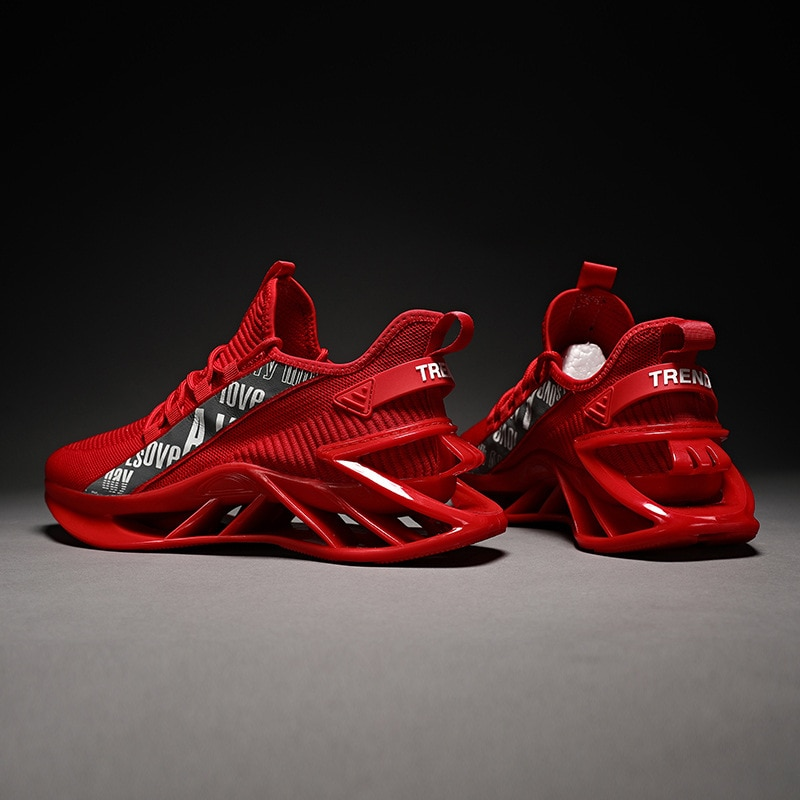 PROWOW الصيف أحذية رجالي 2021 جديد شبكة أحذية رياضية الاحذية البرية الرجال السود العصرية أحذية مكتنزة أحذية رياضية