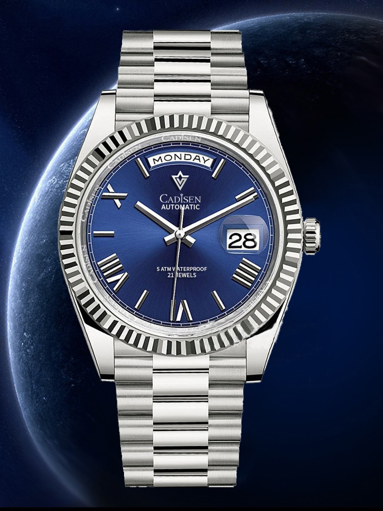 2021 New Tourbillon CADISEN DESIGN Men's Watches Mechanical Watch For Men Automatic Watch Men Top Br
