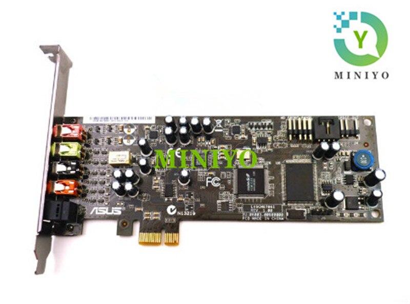Para ASUS Essence STX PCI-E 1X 4X 8X 16X 2,1 tarjeta de sonido pcie soporte Win10/7/8