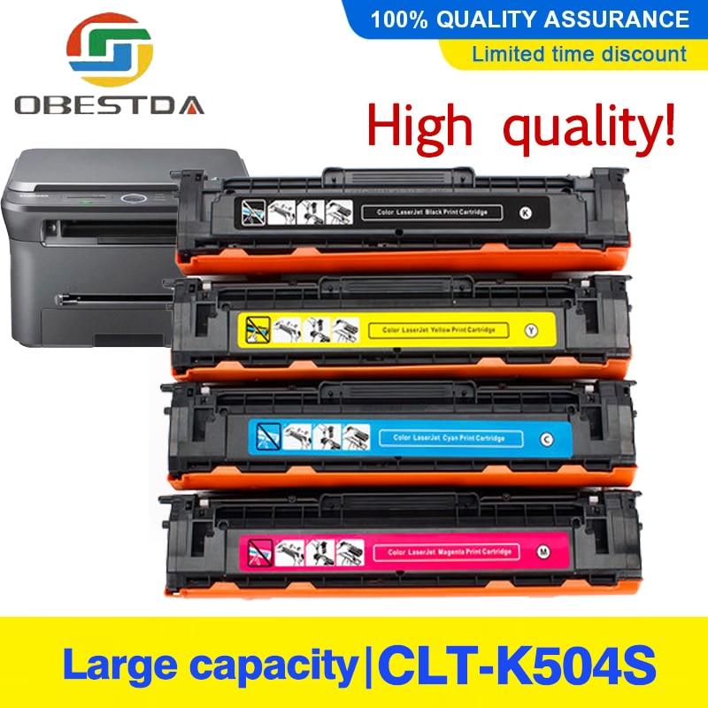 504S CLT-K504S K504s متوافقة خرطوشة الحبر لسامسونج CLP-415NW CLX-4195FW CLP 415NW إكسبرس C1810W C1860FW