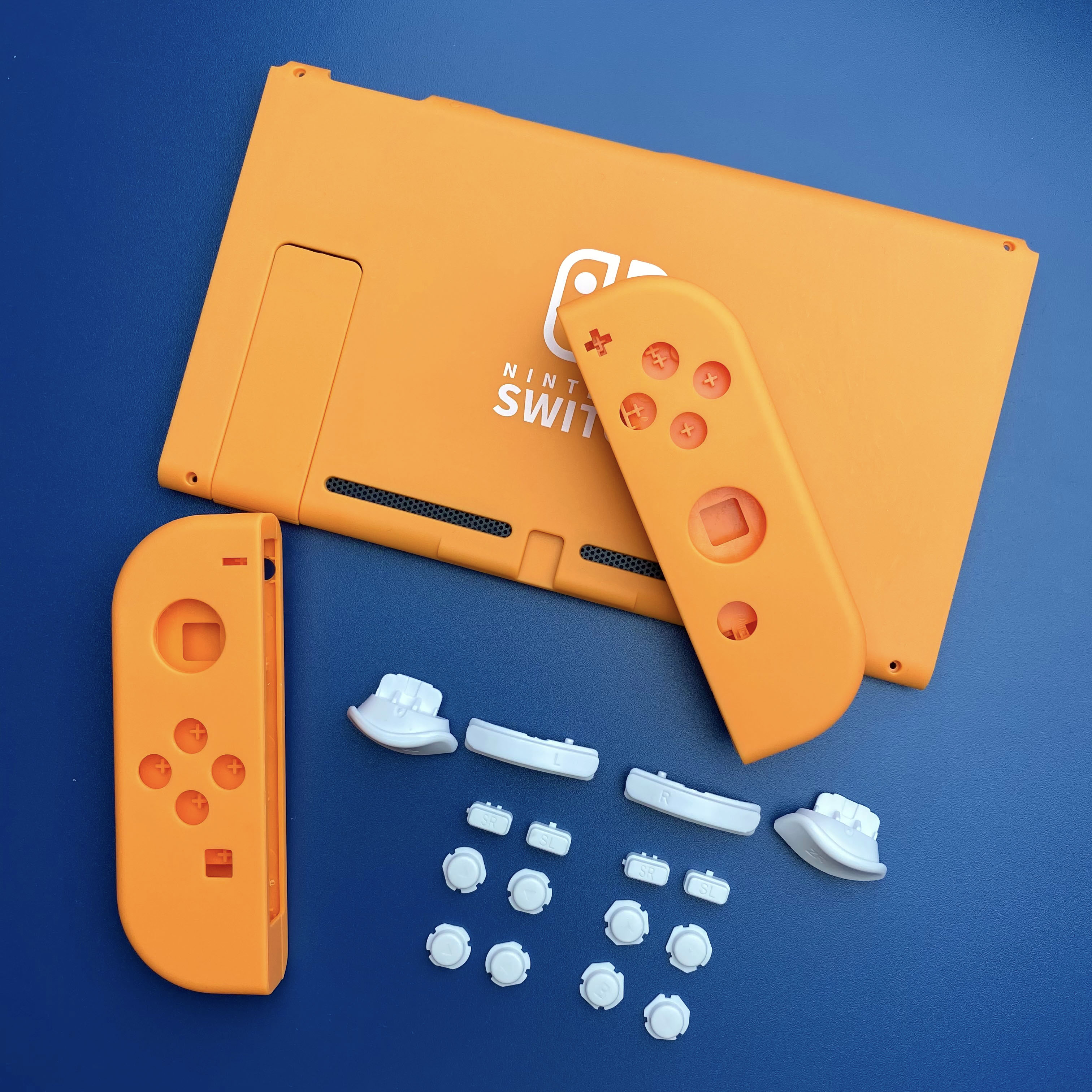 Joy Con Nintend Switch NS Controller Housing Shell Case for Nintendos Switch DIY Orange LR Housing Cover Replacement Accessories enlarge