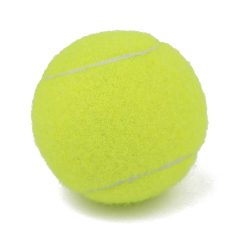 Professional Reinforced Rubber Tennis Ball Shock Absorber High Elasticity Durable Training Ball for