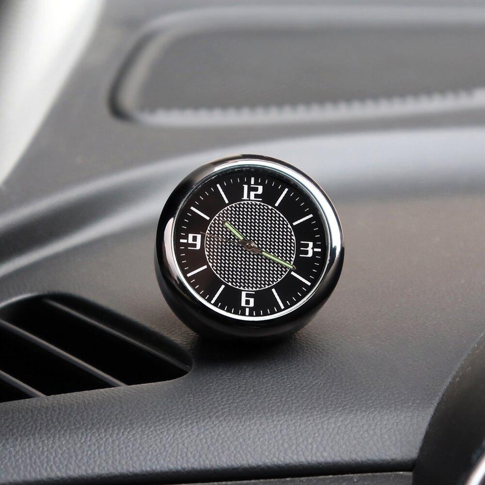 1 voiture horloge tableau de bord décoration intérieur accessoires pour Ford focus 2 3 mk2 mk3 fiesta ranger mondeo mk4 fiesta mk7 fusion kuga
