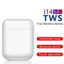 I14 tws casque sans fil bluetooth sport casque smartphone PK bouchons doreilles invisibles i11 i12 i13 i15 i7s i20 i60 i30
