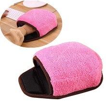 Tapis de souris chauffant USB #20   Avec protège-mains, tapis de souris, chaud, rose, hiver, tapis de souris, Port USB