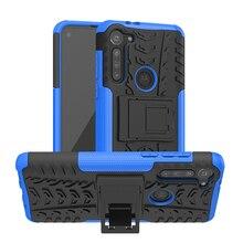 Phone Case For Motorola Moto G8 Power Case Fashion Thick Silicone Hybrid Armor Case For Moto G8 Power Cover Motorola G8 Power