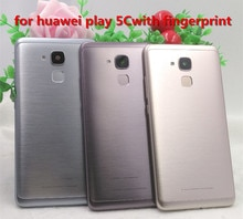 With fingerprint Battery Door housing Rear back Cover for Huawei GT3 NMO-L31 GR5 mini NEM L31 L21 NEM-L31 NEM-L21 Honor 7 Lite