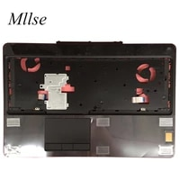 free shipping new for dell precision 7520 7510 laptop c case touch pad fingerprint 0drk9h drk9h