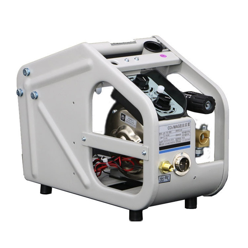 آلة لحام كهربائية ، وحدة تغذية سلك محرك مزدوج ، لحام بالغاز ، مغذي سلك لحام