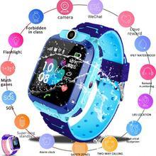 Reloj Q12 Smart Watches Children Kid Student 1.44 Inch Waterproof Smart Watch 2020 SOS Dial Call Voi