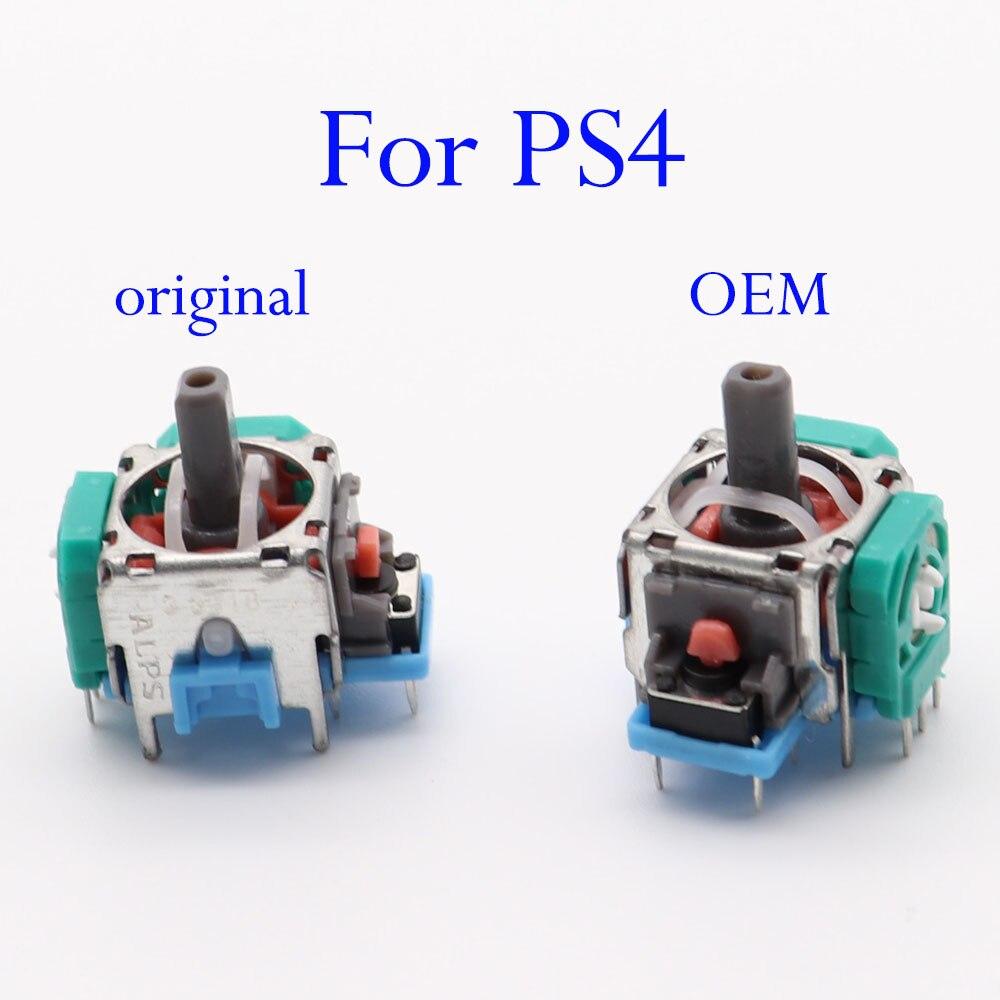 Оригинальный OEM 3D потенциометр Joy Stick аналоговый оси джойстик модуль для Sony Playstation4 PS4 Геймпад для PS4 Slim Pro контроллер
