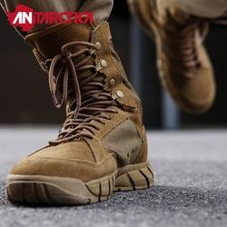 Nova Qualidade Coyote Desert Tático Militar Botas Homens Botas de Combate Sapatos de Trabalho dos homens Escalada Botas Do Exército Dos Homens As sapatilhas Das Mulheres botas