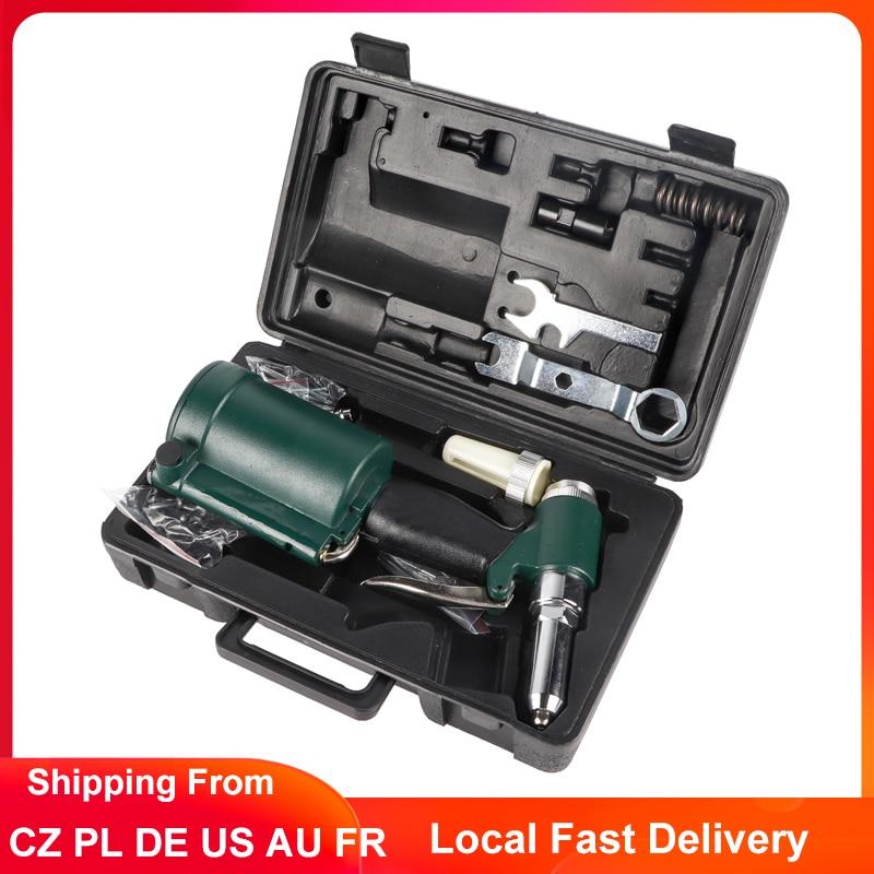 Pneumatic Hydraulic Rivet Gun Industrial Air Riveter Gun 2.4-4.8mm Pop Pneumatic Riveting Gun Rivet Tool