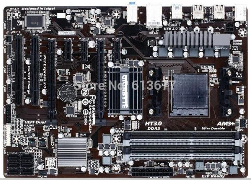 لوحات الأم GA-970A-DS3P المقبس AM3/AM3 + DDR3 970A-DS3P لوحات 32GB 970 سطح المكتب اللوحة الأم