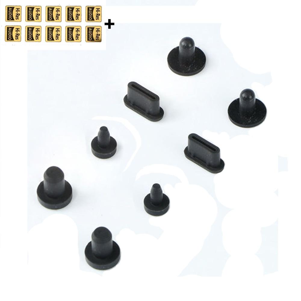 2Sets Dust Plug for FiiO M11 Plus LTD M15 M11 Pro M11 for SHANLING M8 M6 Pro / M6 for iRiver iBasso MP3 DAP Portable HiFi Player