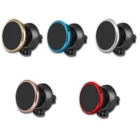 mobile phonerotating magnetic car holder air ventilation bracket safety fixing suitable for all mobile phones