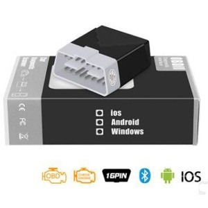 Image 5 - Мини OBD2 ELM327 диагностический инструмент Bluetooth 4,0 сканирующий Инструмент лучше, чем Elm 327 V1.5 Диагностика автомобиля Odb2 Obd2 сканер работает на IOS