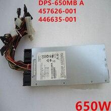 Psu novo para hp dl160 g5 650 w fonte de alimentação DPS-650MB a 457626-001 446635-001