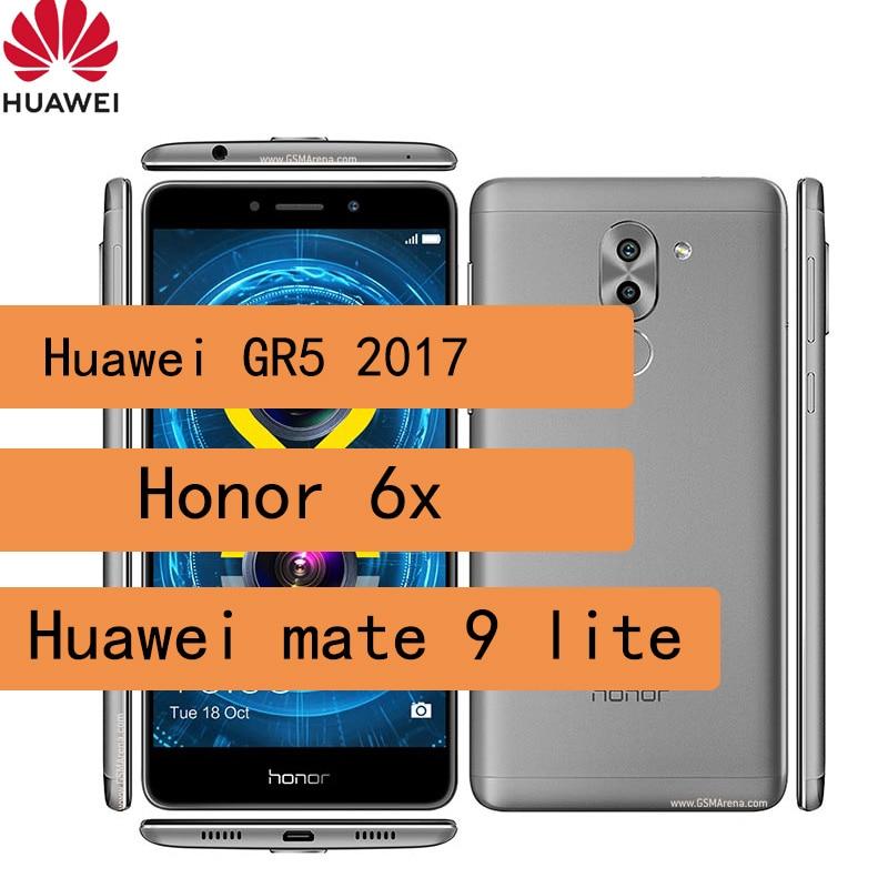 Huawei GR5 2017 smartphone honor 6x huawei mate 9 lite celular 3340 mAh Kirin 655 1080 x 1920 pixels refurbished