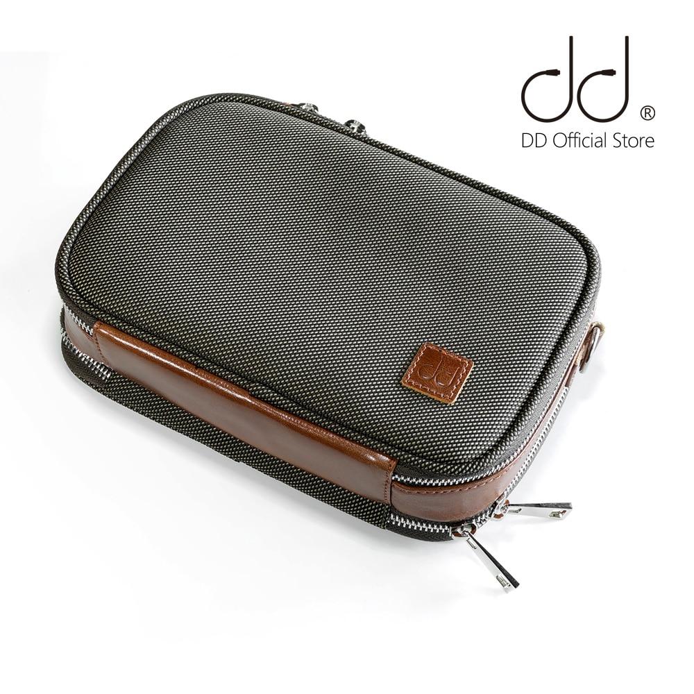 DD ddHiFi C-2020 (marrón), Estuche de transporte de alta fidelidad personalizada para...